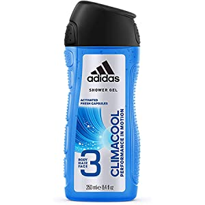 Adidas Climacool 3In1 Body, Hair And Face Shower Gel For Him 250 ml